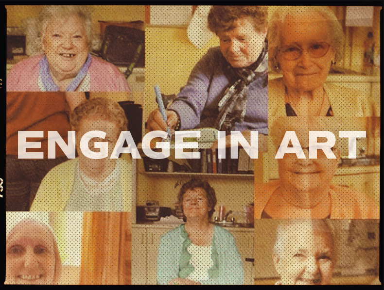 Engage in Art: Public Art Showcase by Older People in West Belfast